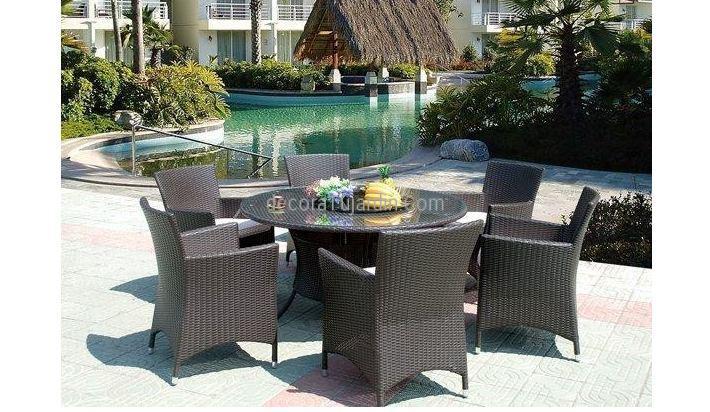 Muebles de jard n terraza mobiliario directo de f brica for Mobiliario jardin terraza
