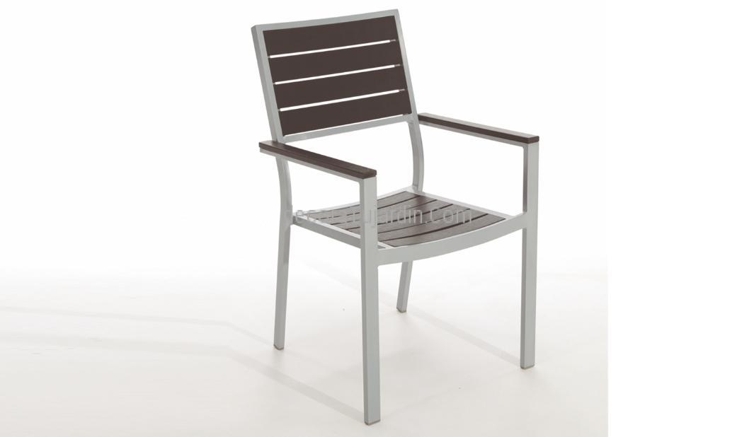 Sill n jardin y exterior aluminio con resina - Mueble de resina para exterior ...