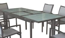 mesa ampliable jardín