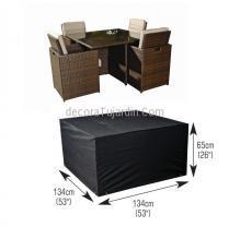 Funda  conjunto jardin mesa+4 sillas