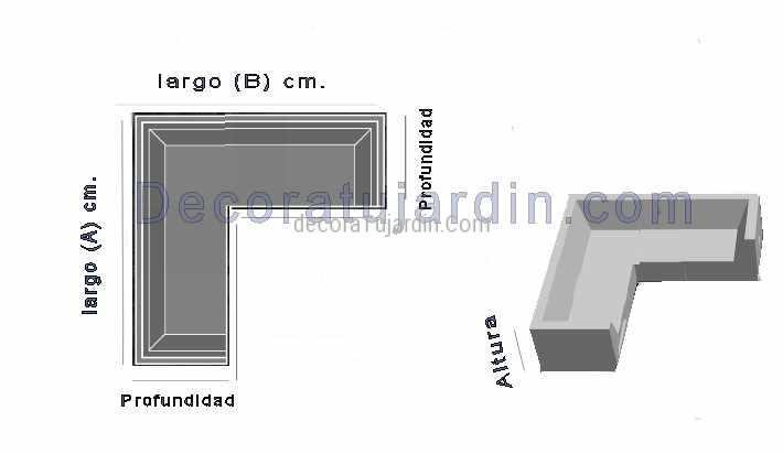 Funda mueble jardín Modular