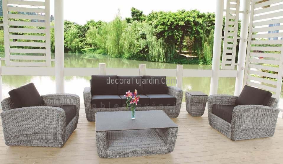 Mueble de terraza sof de jard n polo - Mueble para terraza ...